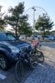 葛西臨海公園の駐車場に到着