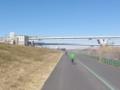 首都高6号線の新荒川橋と堀切橋
