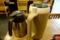 蕎麦湯と麦茶