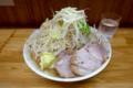 小ラーメン(700円)+ヤサイ