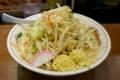 タンメン(730円)+麺大盛(100円)+ショウガ多め