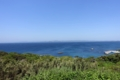 洲崎灯台からの三浦半島を望む