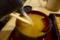 蕎麦湯を入れる