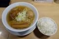 らーめんmacro【焼豚厚・メンマ厚2本】(800円)+味玉Facebookいいね!(0円)