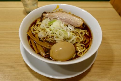 らーめんmicro【焼豚厚・メンマ薄4本】(800円)+煮玉子(Facebookいいね!0円