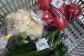 直売所で購入した野菜