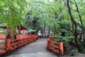 摂社・水谷神社にかかる橋