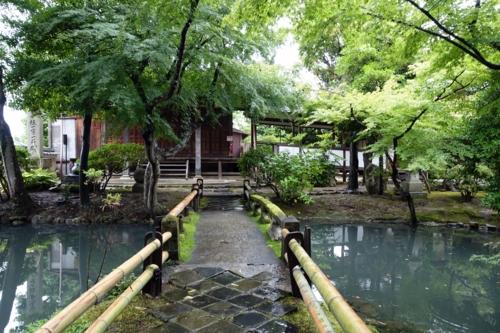 新薬師寺 香薬師堂と庫裏