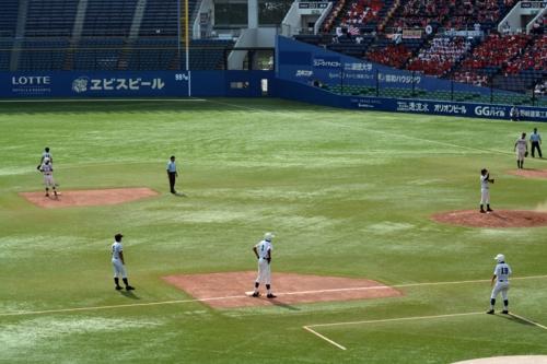 満塁のチャンス