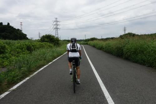 再び花見川サイクリングロードへ