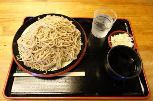 特選 牡丹蕎麦[大盛500g](800円)