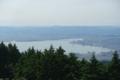 ロープウェイ比叡山頂からの眺望