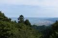 坂本ケーブル延暦寺駅からの眺望