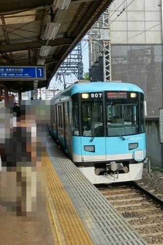 浜大津で京津線へ