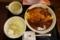 牛すじオムドム[スープ・サラダ付](850円)