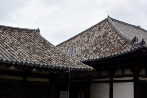 飛鳥時代(法興寺創建)の古式瓦