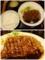 トンテキ定食【200g・ご飯大盛お替り無料】(820円)