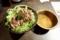 牛ステーキまぶし丼[スープ付](980円)+ライス大盛無料