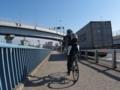 再び荒川河口橋へ