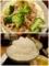 豚肉とブロッコリーの塩だれ炒めと大盛りご飯