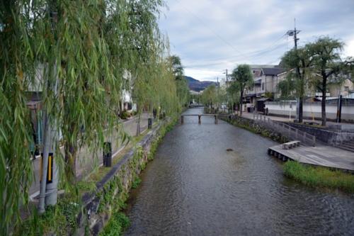 白川と古川町橋