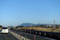 圏央道からみた筑波山