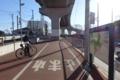 旧土浦駅・終点からスタート