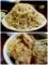 ?盛の蕎麦/巨大な鶏肉2塊