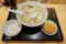 野菜そば(850円)+ラーメンセット【野菜コロッケ、小ライス】(150円)