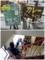 店頭のメニューと階段の並び