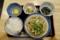 朝定食(390円)