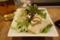 豆腐とカリカリじゃこのサラダ