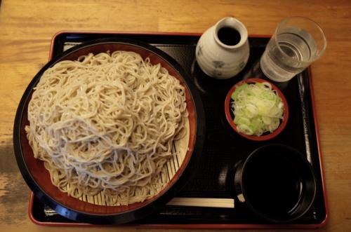恵み蕎麦【特盛650g】(800円)