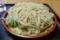 特盛りの蕎麦