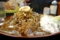+無料トッピング(1.味玉・4.ポテトサラダ・10フライドオニオン)