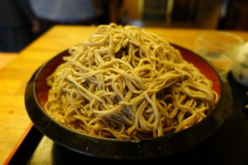 特盛りのダッタン蕎麦