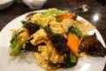 豚肉とキクラゲ玉子炒め(450円)