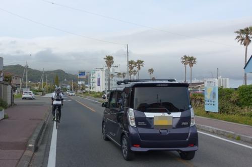 白浜から千倉へ向かう