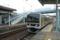 千倉駅に普通電車が入線