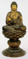 重文「塔本四仏坐像」のうち 「阿弥陀如来坐像」