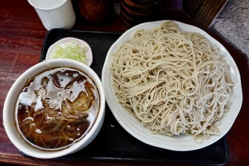肉つけそば【?盛????g】(1000円)