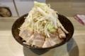 ヤサイ増し半チャーシュー太麺