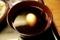 茹卵が浮くネギ汁