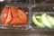 冷やしトマトと瓜漬物