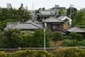 江戸川土手から見た山本邸