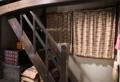 寅さんの部屋への階段