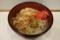 釜玉そば(340円)+大盛(50円)+セルフ紅生姜&七味唐辛子