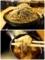 特盛のダッタン蕎麦をとろろつゆできる手繰る