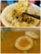 麺を手繰る/味玉