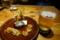 前菜と生ビール